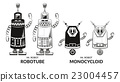 Contour and Silhouette Robots Set 23004457