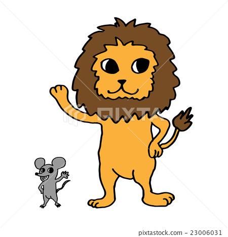 獅子和老鼠 23006031