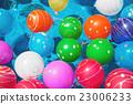 水球 漂浮的 女孩 23006233