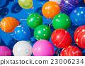 水球 漂浮的 女孩 23006234