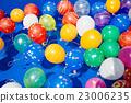 水球 漂浮的 女孩 23006235