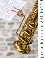 Clarinet and Musical score 23006449