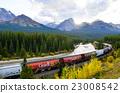 加拿大洛基山脈 世界遺產 貨運列車 23008542