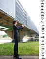 business man, digital tablet, tablet 23009903