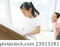 女孩 姐妹 演奏 23013261