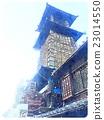 เวลาในการก่อสร้างระฆังเวลา Kawagoe (สไตล์การวาดสีน้ำ) 01 23014550