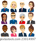 Business People Avatar Set Collection 23014997