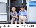 肖像 露營車 露營者 23015093