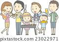 家庭 家族 家人 23022971