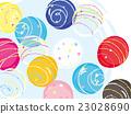 水球 溜溜球 廟會 23028690