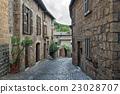 Streets of the city Orvieto, Italy, Toscana 23028707
