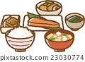 Japanese breakfast 23030774