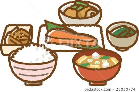 日式早餐 23030774