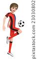 少年 足球 橄欖球 23030802