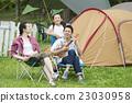 營地 露營 家庭 23030958