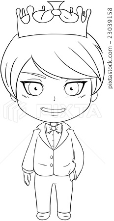 Prince Coloring Page 1 23039158