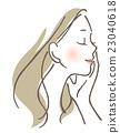 一個閉上眼睛的女人 23040618
