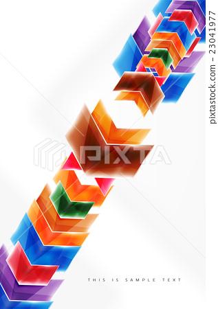 Glossy arrow wallpaper 23041977