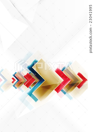 Arrows and triangles background 23041995