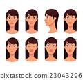 Plastic reconstructive surgery face 23043296