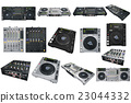 Set Dj musical equipment 23044332