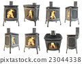 Set classic fireplace 23044338