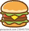 burger, burgers, hamburger 23045739