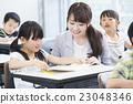 선생님과 초등학생 23048346