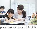 선생님과 초등학생 23048347