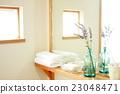washroom, shelf, cheerful 23048471