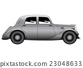 Coupe - vintage model of car 23048633