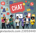 Chat Communication Social Media Networking Connection Concept 23050440