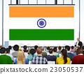 India Flag Patriotism Indian Pride Unity Concept 23050537