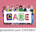 Care Assurance Protection Help Charity Security Concept 23050847