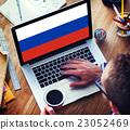 Russia Flag Patriotism Russian Pride Unity Concept 23052469