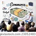 Commercial Market Retail Exchange Customrer Concept 23052483
