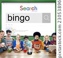 Bingo Game Luck Gambling Leisure Recreation Jackpot Concept 23053896