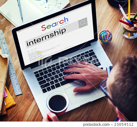Internship Skills Temporary Management Trainee Concept - Stock Photo