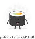 Kids restaurant menu cardboard character. Funny 23054806