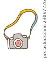 照相機 白底 矢量 23057226