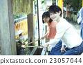 女性 洗手用的水 京都 23057644