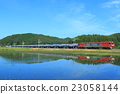 freight train, goods train, tohoku main line 23058144