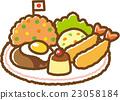 孩子的午餐 炸蝦 雞飯 23058184
