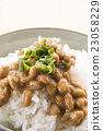 natto, fermented soybeans, japanese cuisine 23058229