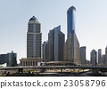 Shanghai skyline. Modern skyscrapers in downtown S 23058796