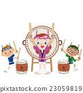鼓 儿童 孩子 23059819