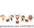 鼓 儿童 孩子 23059820