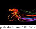 自行车 脚踏车 骑自行车的人 23062612