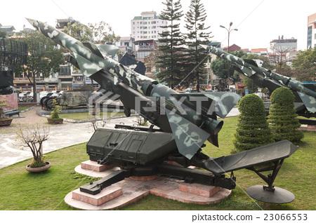 베트남 전쟁 당시 북베트남 군이 사용한 S-75 미사일 (SA-2 가이드 라인) 지대공 미사일 23066553