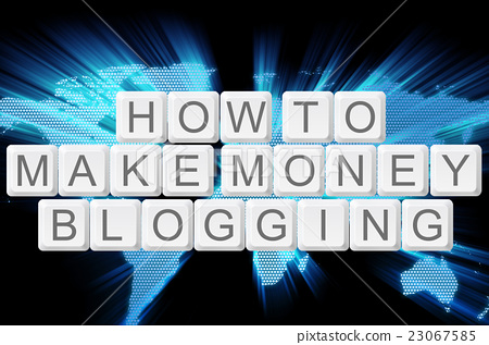 how to make money blogging keyboard button  23067585